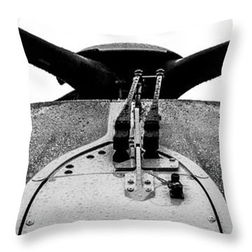 Panorama Windshield Throw Pillow by Bill Kesler