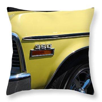 panoramic yellow Nova Throw Pillow