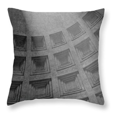 Pantheon Ceiling Throw Pillow