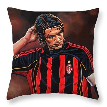 Paolo Maldini Throw Pillow