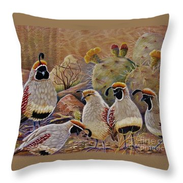 Papa Grande Throw Pillow by Marilyn Smith