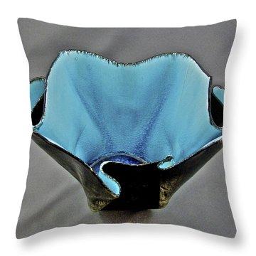 Paper-thin Bowl  09-002 Throw Pillow