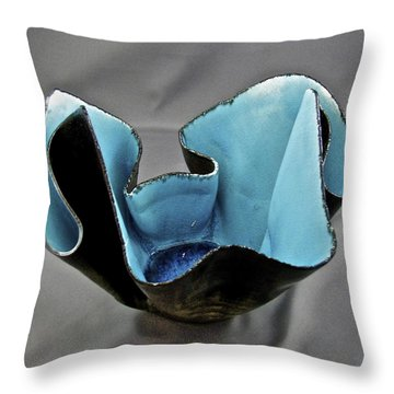 Paper-thin Bowl  09-003 Throw Pillow