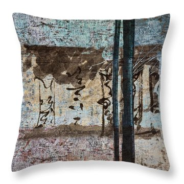 Papers And Inks Throw Pillow