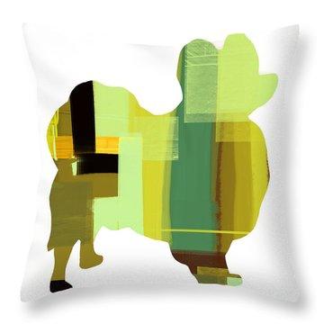 Papillion Throw Pillow by Naxart Studio