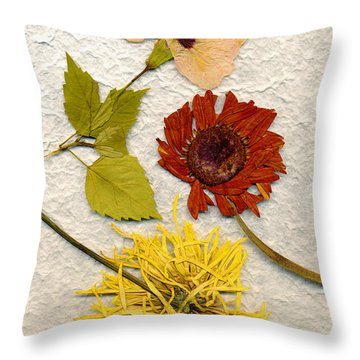 Papyrus3 Throw Pillow