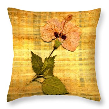 Papyrus6 Throw Pillow