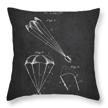 Skydive Throw Pillows