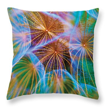 Parachute Time Throw Pillow