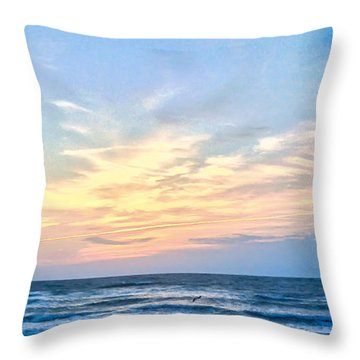 Paraclete At Sunrise  Throw Pillow