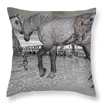 Paradise Throw Pillow