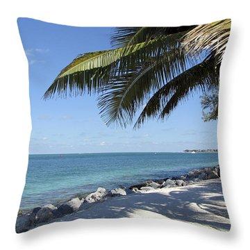 Paradise - Key West Florida Throw Pillow