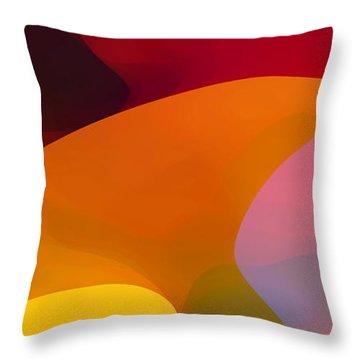 Paradise Found 1 Panel C Throw Pillow by Amy Vangsgard
