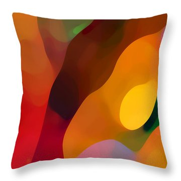 Paradise Found 3 Throw Pillow by Amy Vangsgard