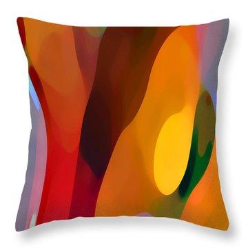 Paradise Found 3 Tall Throw Pillow by Amy Vangsgard