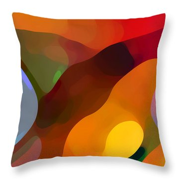 Paradise Found Tall Throw Pillow by Amy Vangsgard
