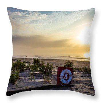 Throw Pillow featuring the photograph Paradise Found by Tyson Kinnison