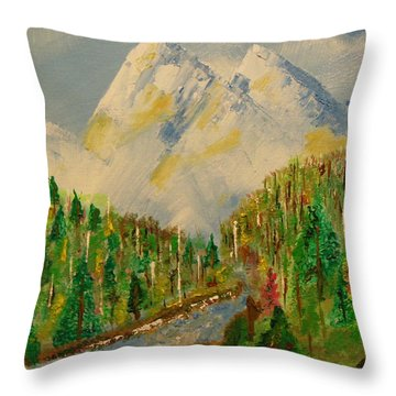 Paradise Throw Pillow by Harold Greer