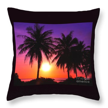 Paradise Is Waiting Throw Pillow