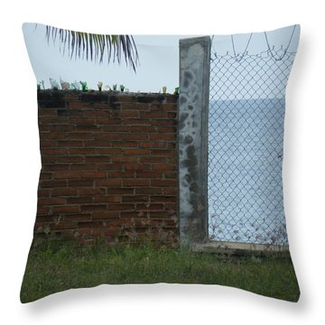 Throw Pillow featuring the photograph Paradise Lost by Brian Boyle