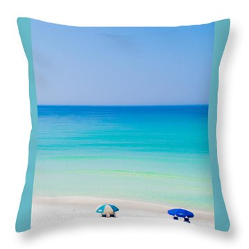 Paradise Throw Pillow by Shelby  Young