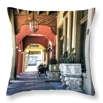Paradiso Throw Pillow by Kandy Hurley