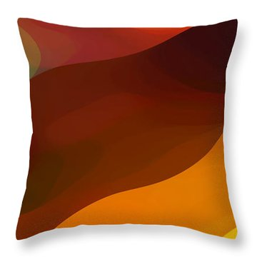 Paradisr Found 1 Panel B Throw Pillow by Amy Vangsgard