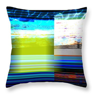 Parallel 1 Throw Pillow