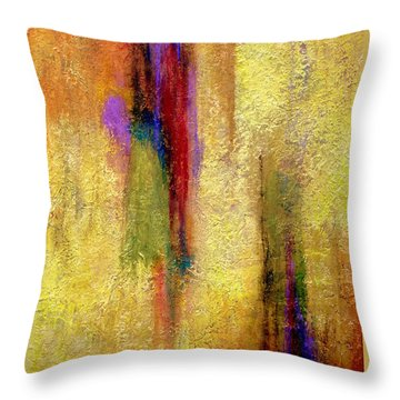 Parallel Dreams Throw Pillow by Jim Whalen