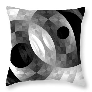 Parallel Universes Throw Pillow by Martina  Rathgens