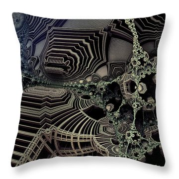 Parallel World 4 Throw Pillow