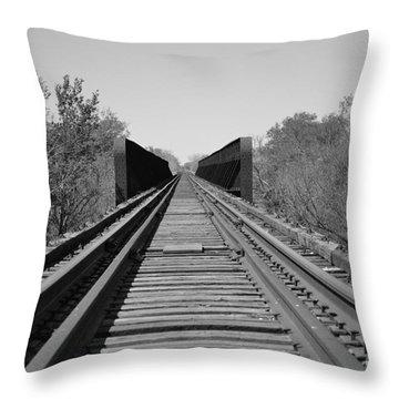 Parallelism Throw Pillow