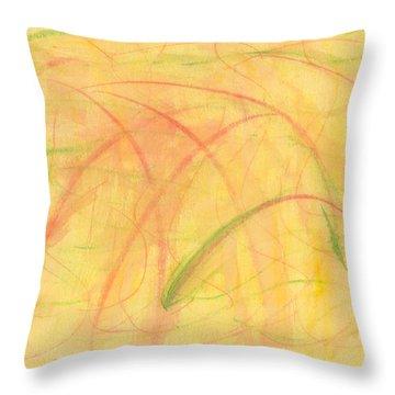 Paranoid In Reverse-horizontal Throw Pillow
