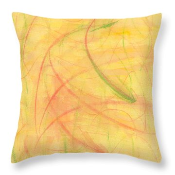 Paranoid In Reverse Throw Pillow