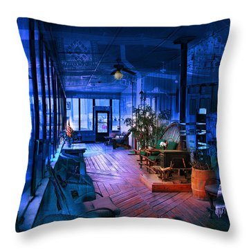 Throw Pillow featuring the photograph Paranormal Activity by Gunter Nezhoda