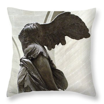 Louvre Throw Pillows