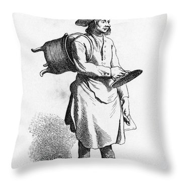 Paris Boilermaker, C1740 Throw Pillow