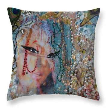 Paris Carnival Throw Pillow