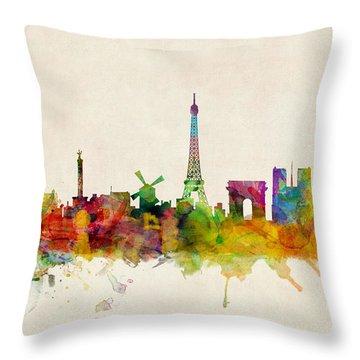 Paris Throw Pillows