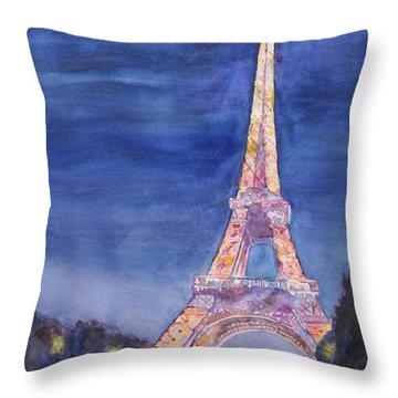 Paris Giant Throw Pillow