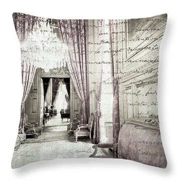 Paris   I Wish I Had Stayed Throw Pillow