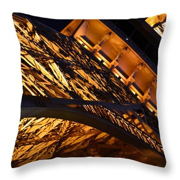 Paris Las Vegas Eiffel Tower Throw Pillow