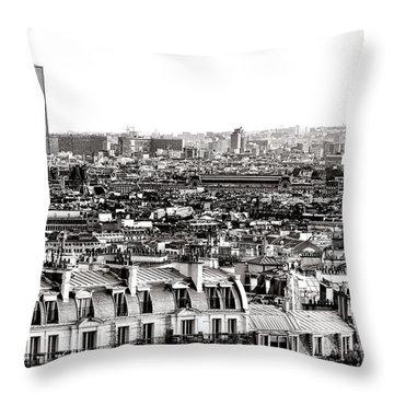 Paris Montparnasse Throw Pillow