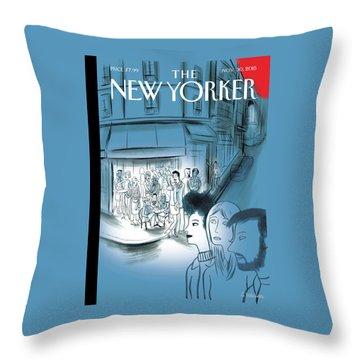 Paris, November 2015 Throw Pillow