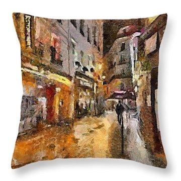 Paris St. Germain Throw Pillow