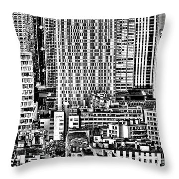 Paris Urban Throw Pillow