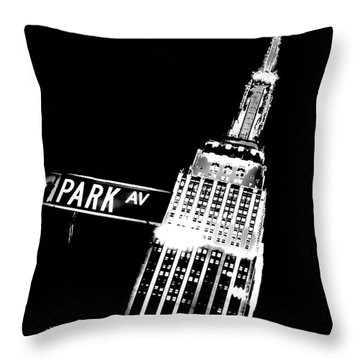 Park Avenue Throw Pillow