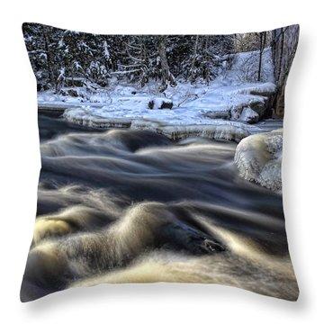 Eau Claire Dells Park Throw Pillow