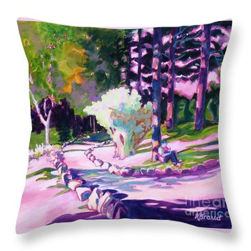 Park Trails 2           Throw Pillow