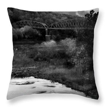 Parker Bridge Throw Pillow